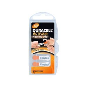 duracell hearing aid batteries size 13 orange