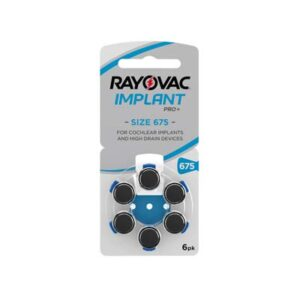 rayovac hearing aid batteries implant size 675